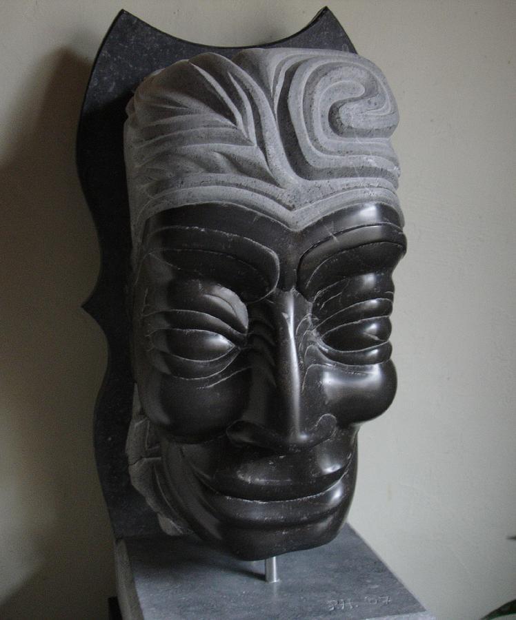 Sculpture Sculpture - The Medicine Man by Paul Holbrecht