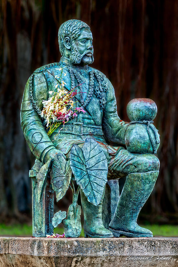 Merrie Monarch Photograph - The Merrie Monarch by Christopher Holmes