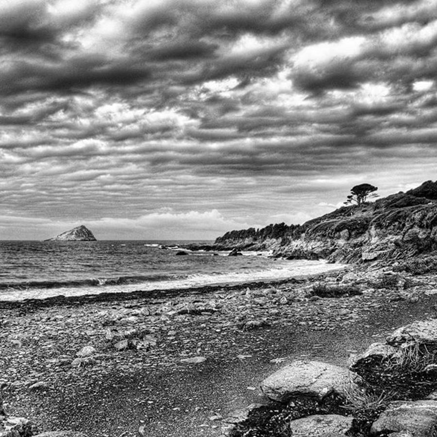 Devonshire Photograph - The Mewstone, Wembury Bay, Devon #view by John Edwards