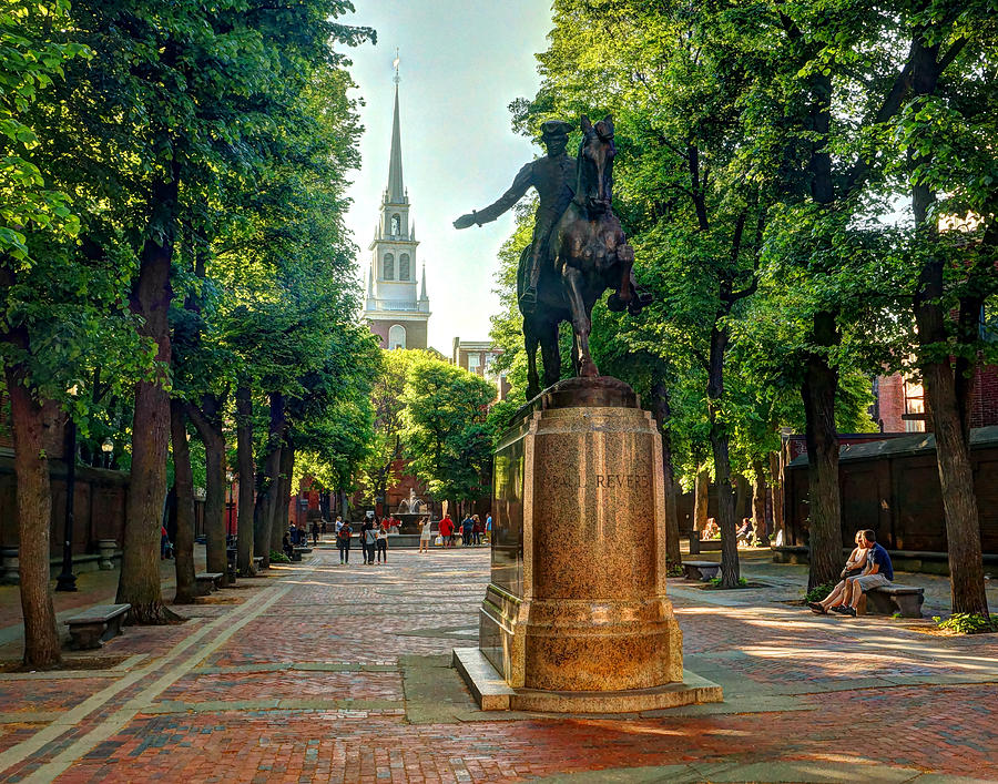 The Midnight Ride Of Paul Revere Photograph