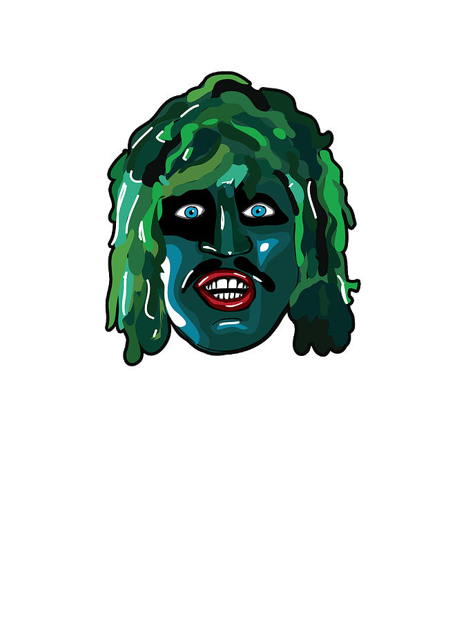The Mighty Boosh Old Gregg Digital Art By Paul Telling