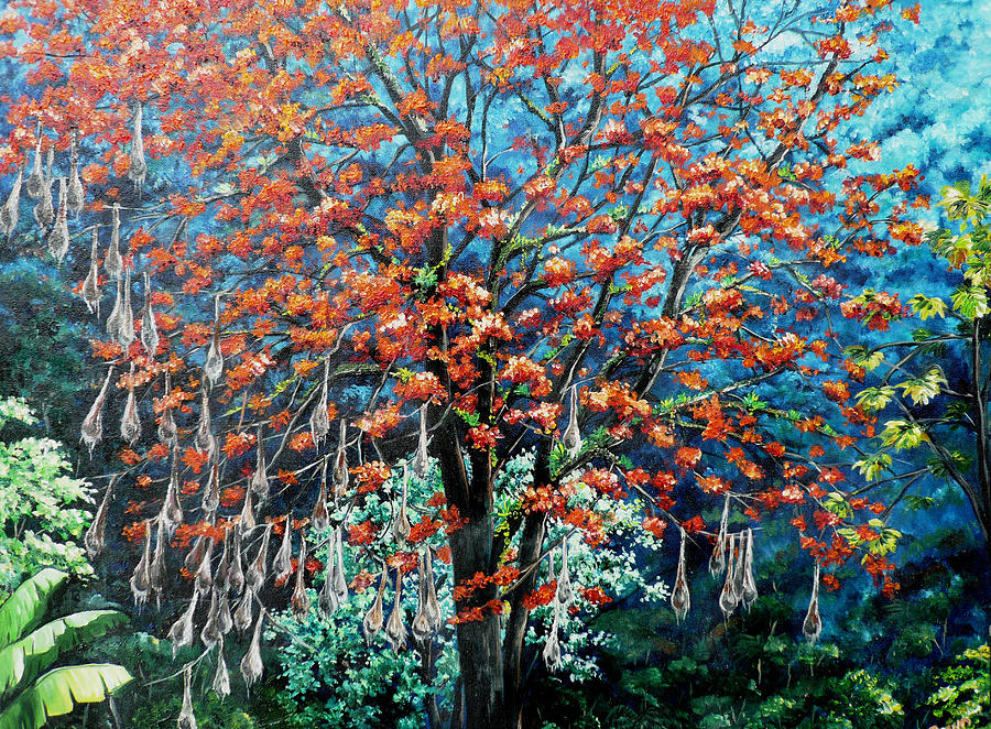 The Mighty Immortelle Painting by Karin  Dawn Kelshall- Best