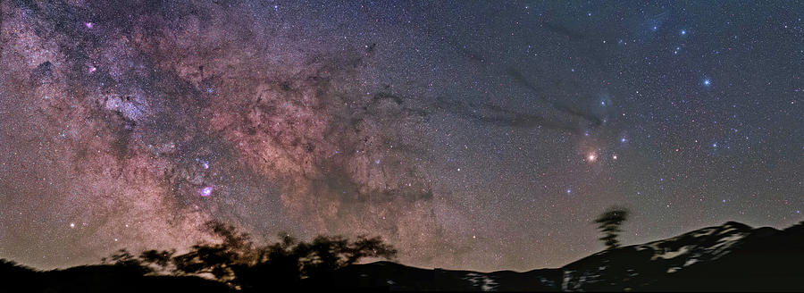 Milky Way Photograph - The Milky Way Core by Alex Conu