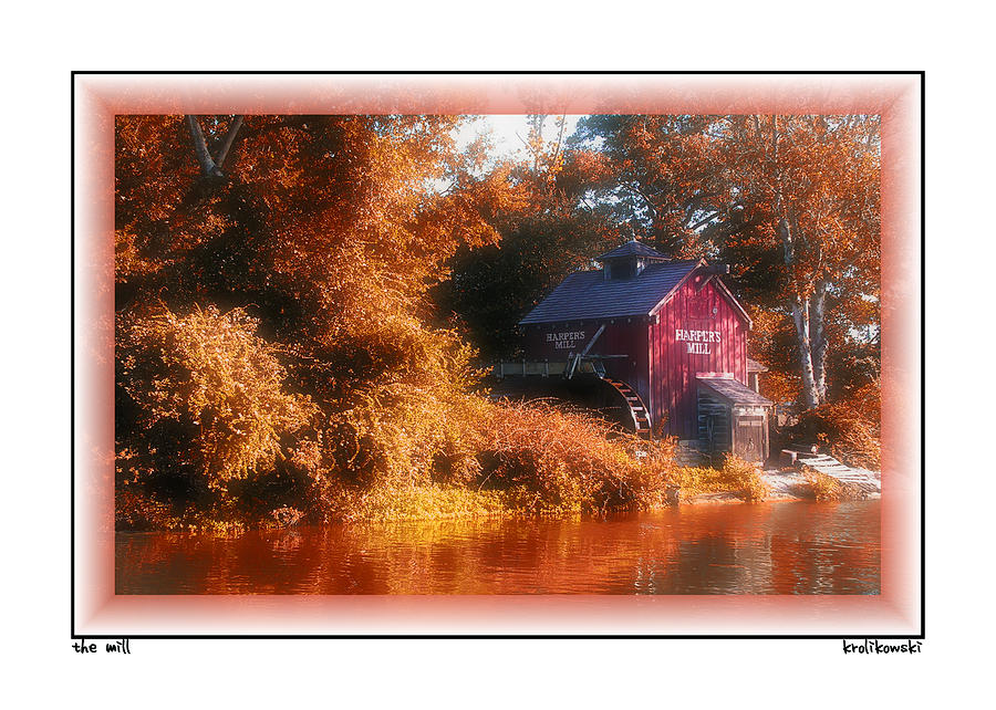 The Mill Greeting Card Photograph