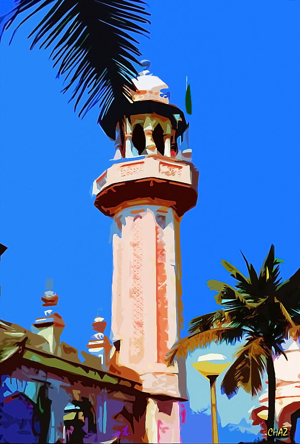 The Minarets Of India Painting