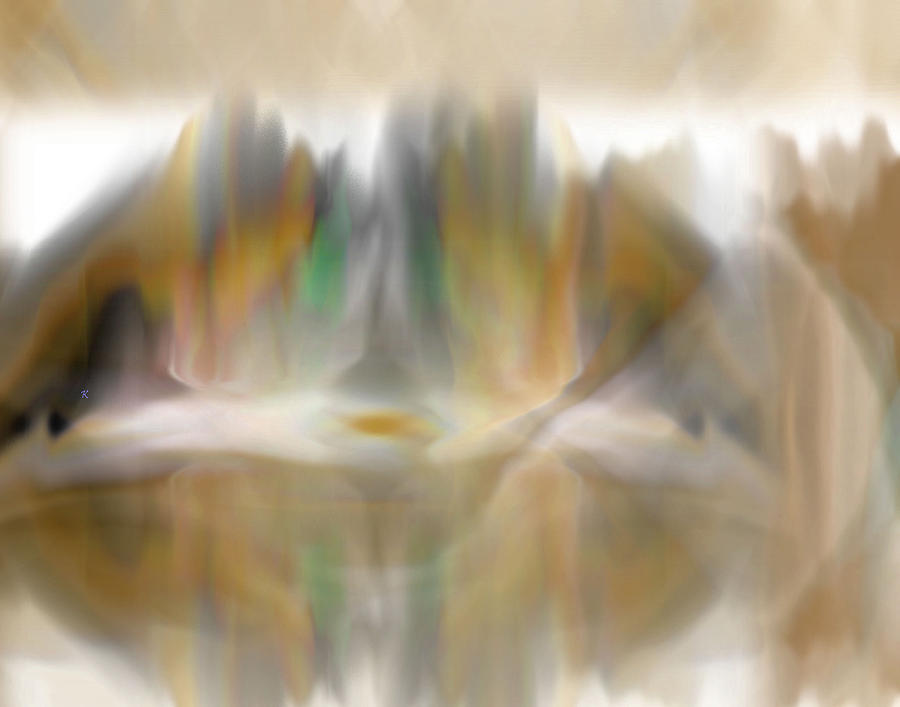 Abstract Digital Art - The Mist by John Krakora