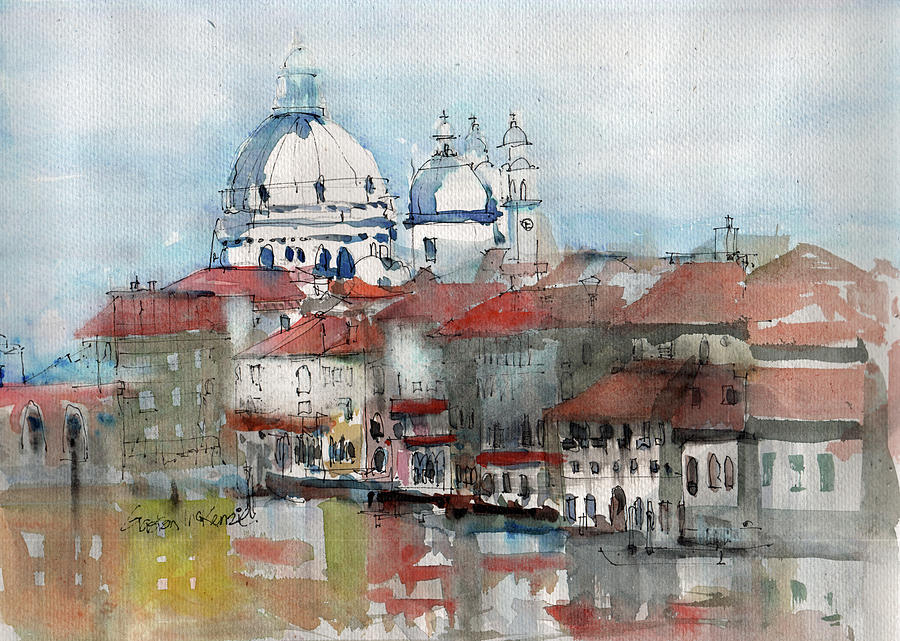 The Mist of Venice by Gaston McKenzie