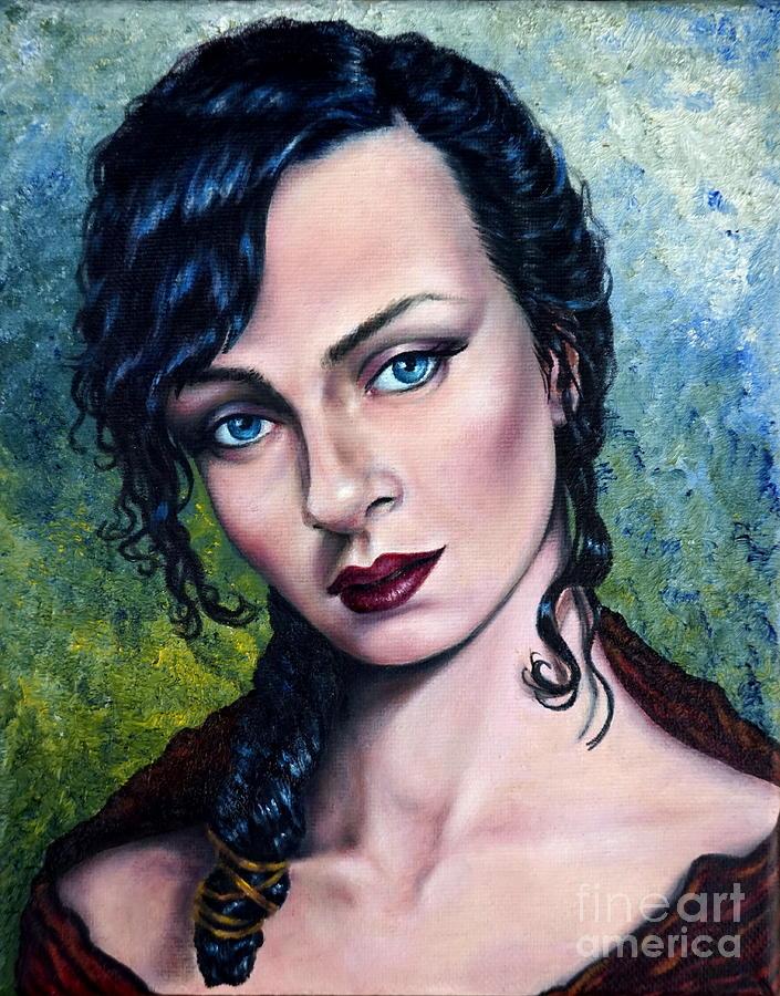 The Mistress by Georgia's Art Brush