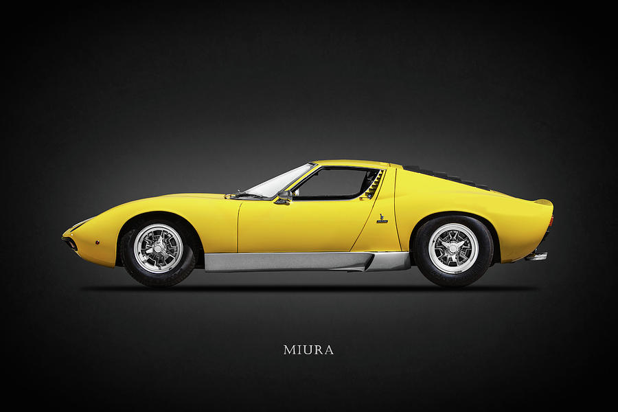 Lamborghini Miura Photograph - The Miura Sv 1972 by Mark Rogan