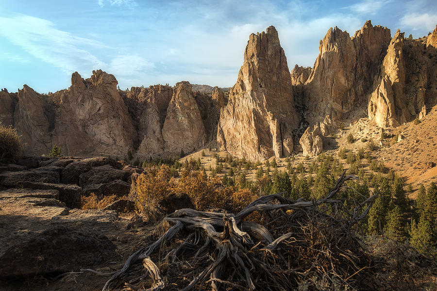 The Monument at Smith Rock by Jon Ares