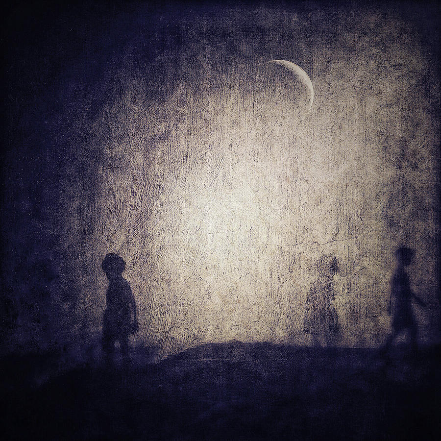 the moon with no stars by Melissa D Johnston