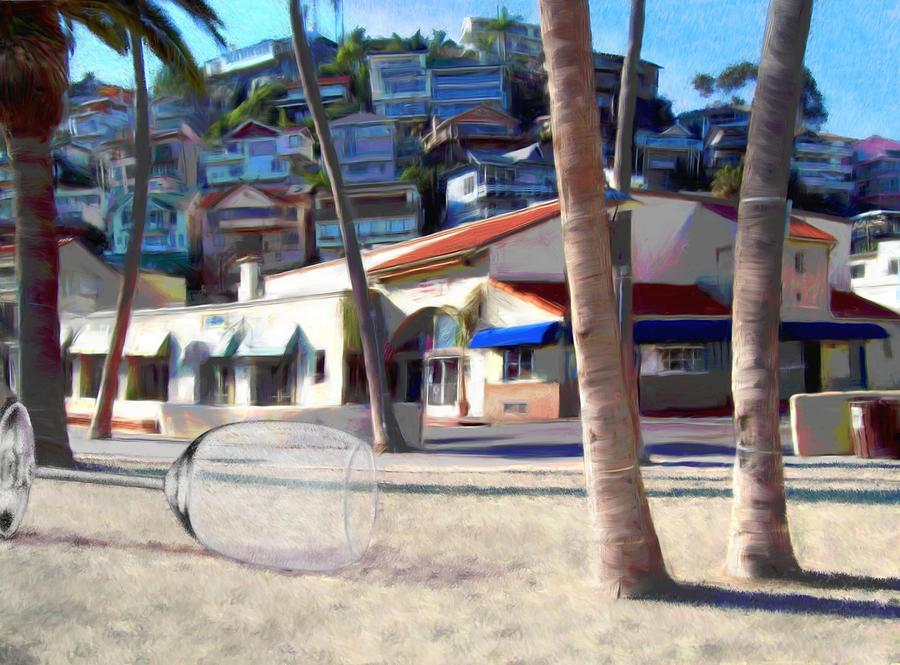Catalina Digital Art - The Morning After by Snake Jagger