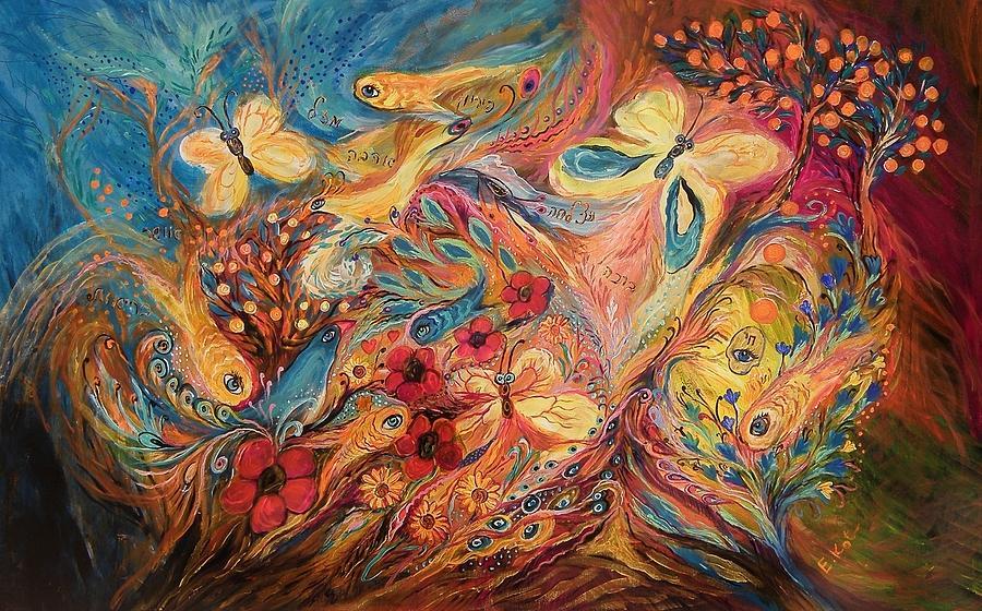 The Morning Freshness Painting by Elena Kotliarker