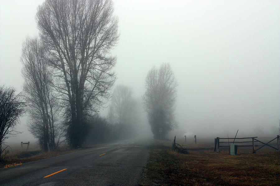 Fog Photograph - The Mornings Grip by Rick Thiemke