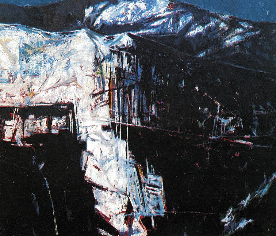 Lanscape Painting - The Mount  Sinjajevina by Vladimir Vlahovic