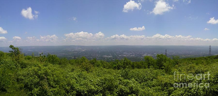 The Mountains Top View Panorama II Photograph by Daniel Henning