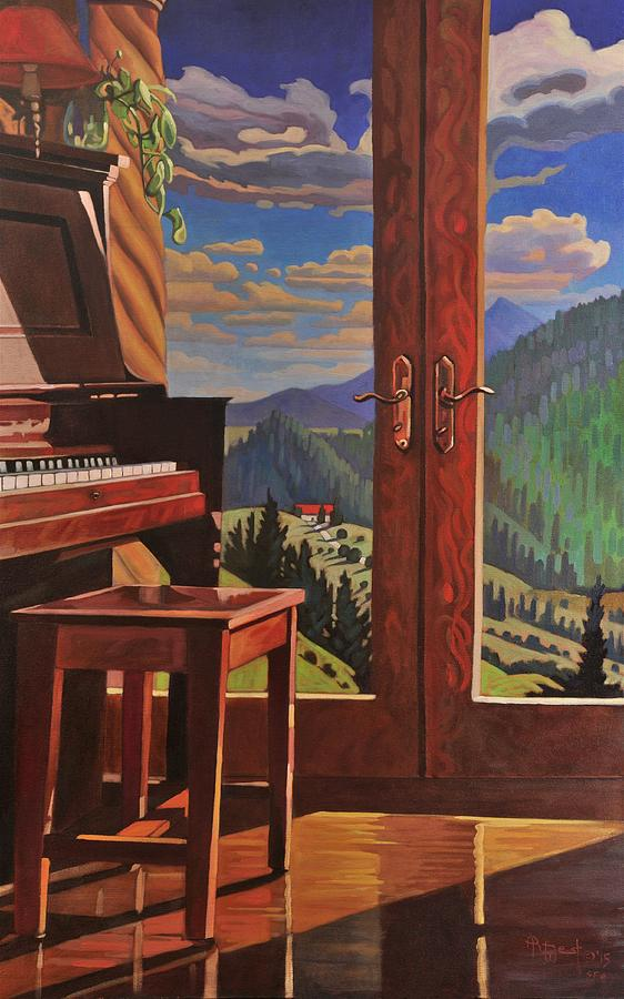 The Music Room by Art West