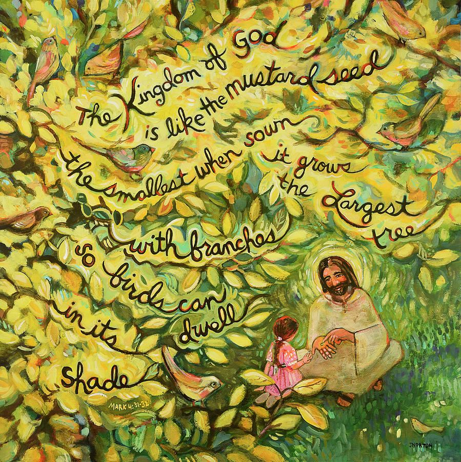 the mustard seed painting by jen norton
