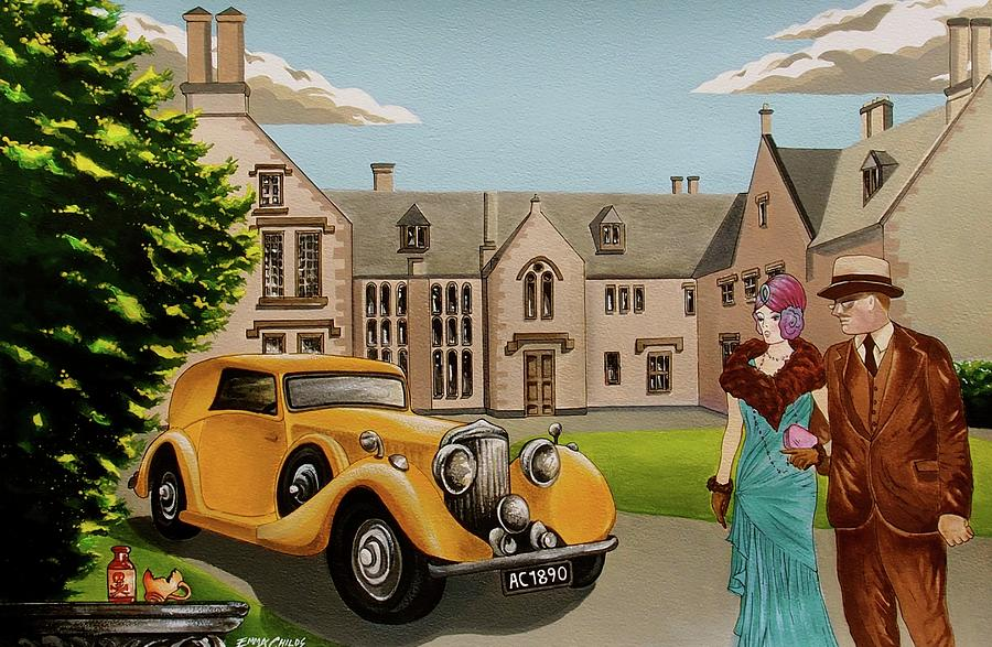 The Mysterious Affair At Styles Painting by Emma Childs