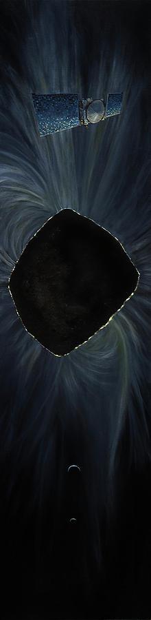 The Mystery Of Bennu Painting by Simon Kregar