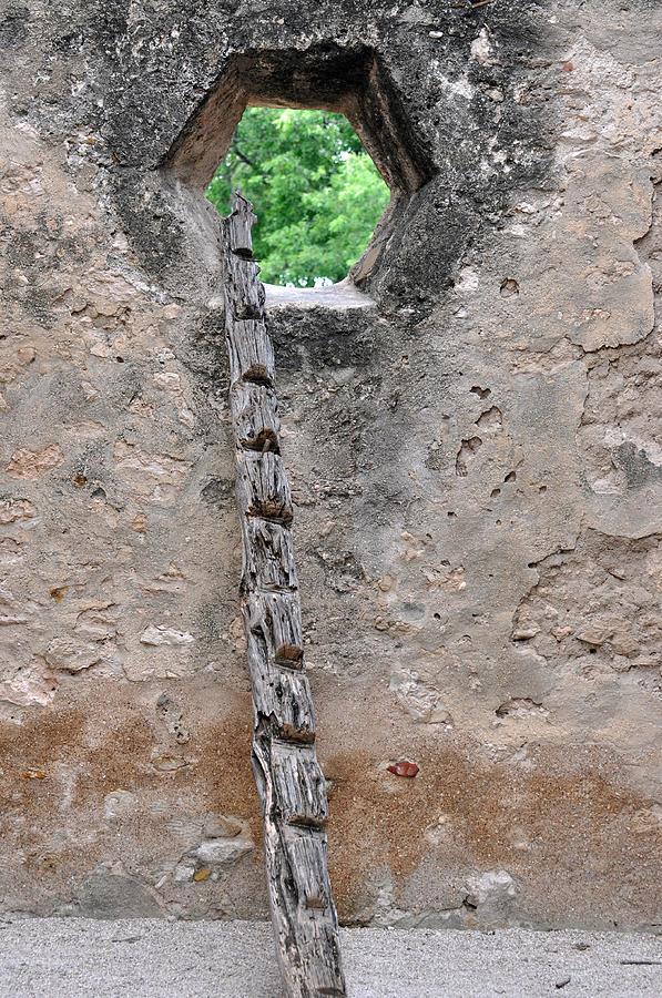 Architecture Photograph - The Narrow Way by Teresa Blanton