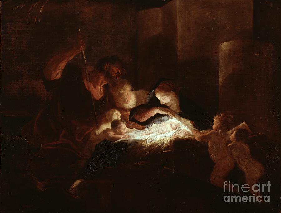 The nativity art