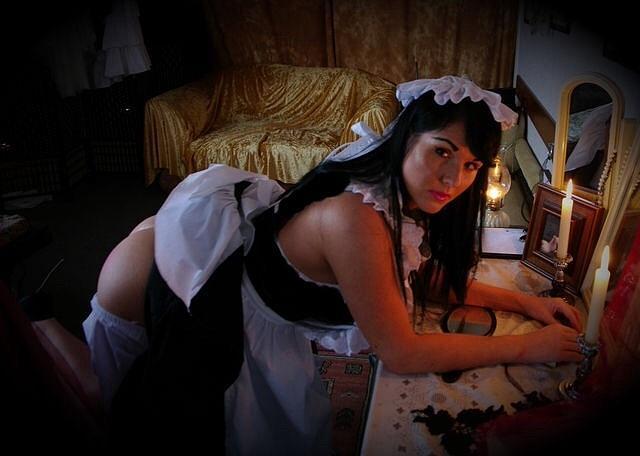 The Naughty Maid by Asa Jones