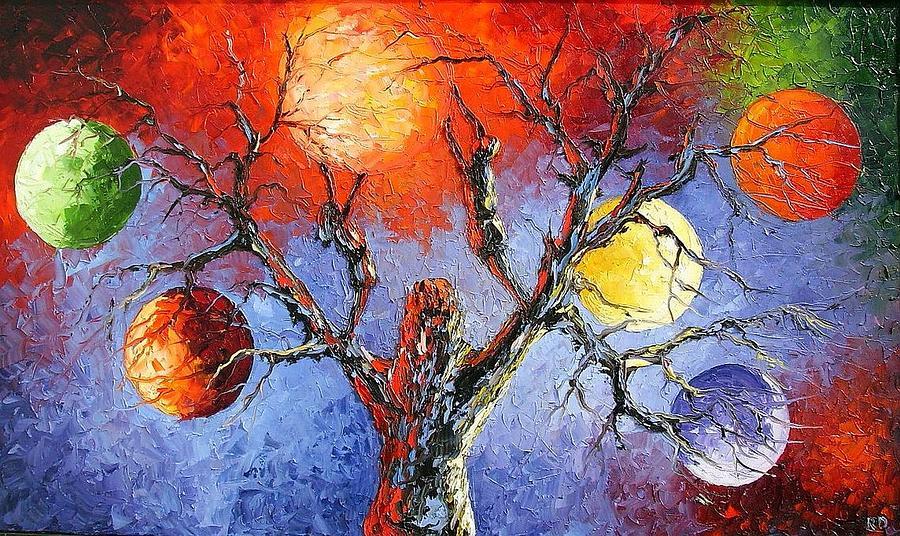 The New Beginning Painting by Rumen Dragiev