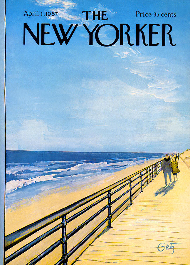Arthur Painting - The New Yorker Cover - April 1st, 1967 by Arthur Getz