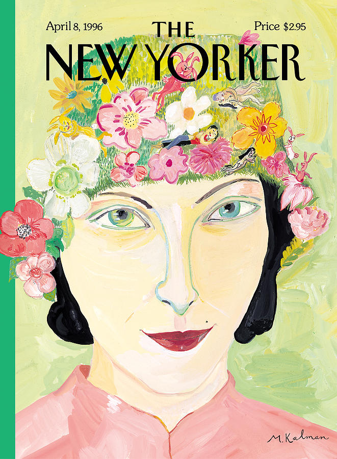 Maira Photograph - The New Yorker Cover - April 8th, 1996 by Maira Kalman