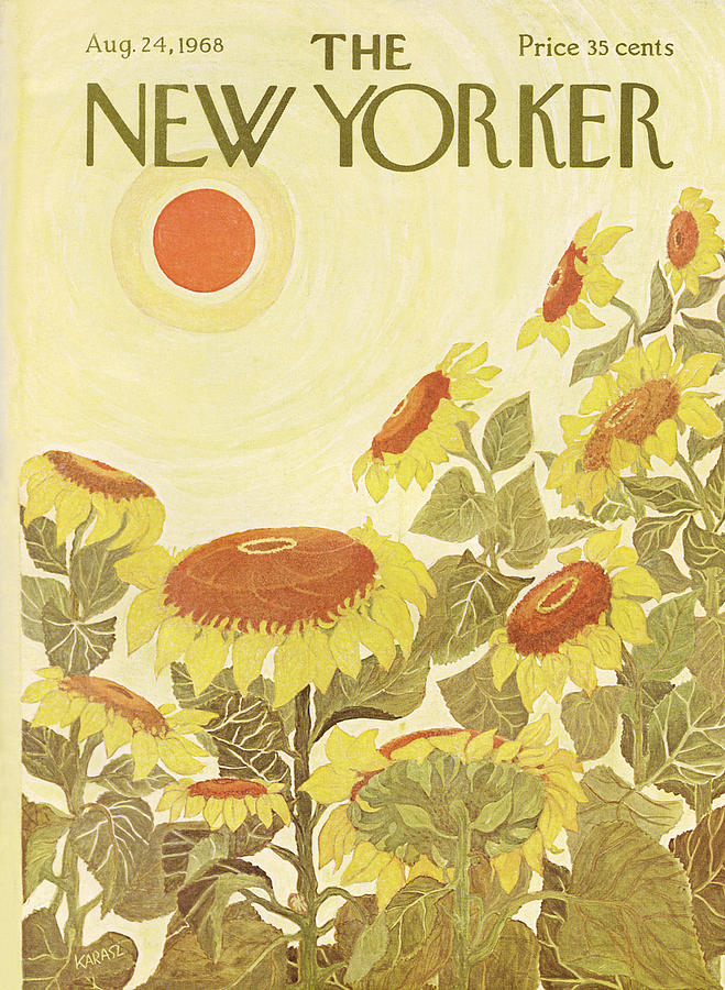 New Yorker August 24th, 1968 Painting by Ilonka Karasz