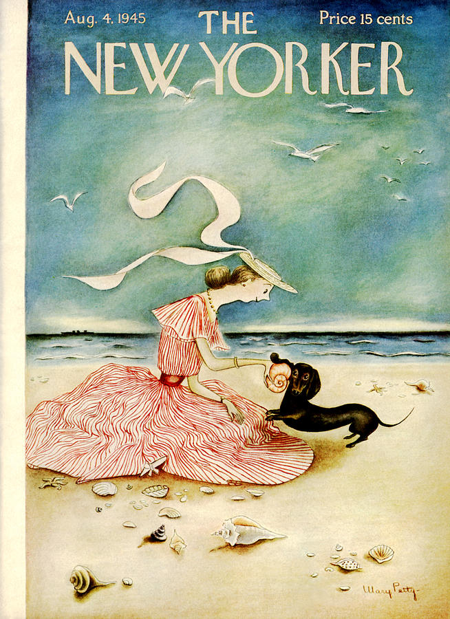 New Yorker August 4 1945 Painting by Mary Petty