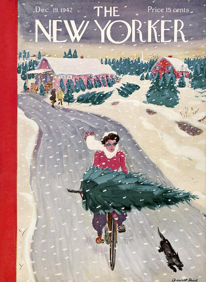 New Yorker December 19, 1942 Painting by Garrett Price
