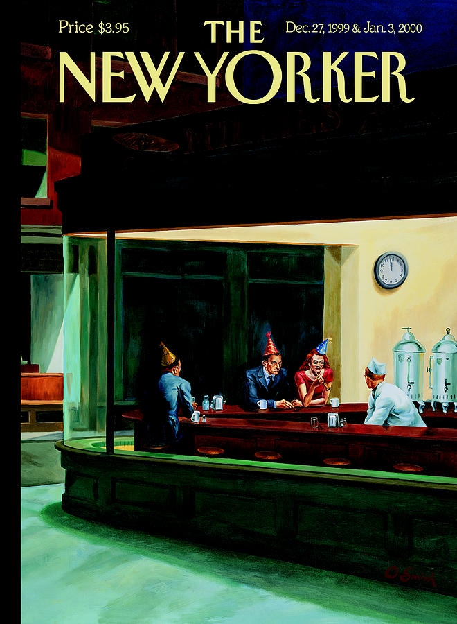 Nighthawks New Year Photograph by Owen Smith