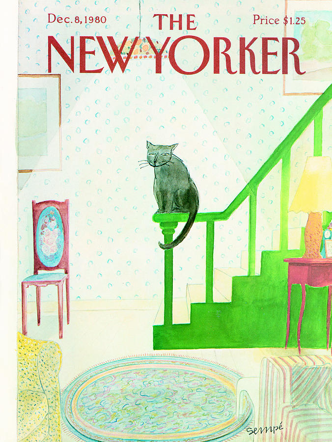 The New Yorker Cover - December 8th, 1980 Photograph by Conde Nast