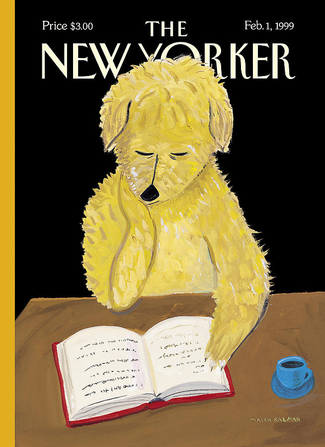 The New Yorker Cover - February 1, 1999 Photograph by Maira Kalman