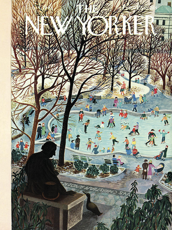 The New Yorker Cover - February 4th, 1961 Photograph by Ilonka Karasz