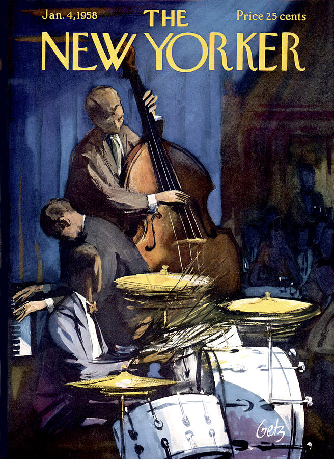 New Yorker January 4th, 1958 Painting by Arthur Getz