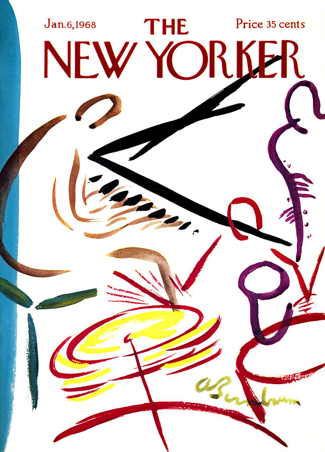 New Yorker  January 6th, 1968 Photograph by Abe Birnbaum