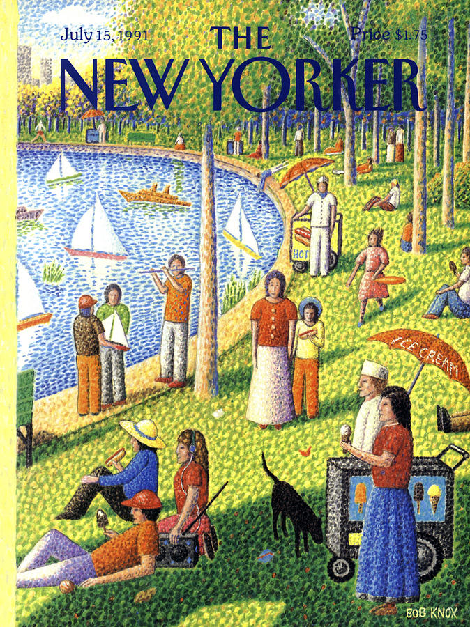 The New Yorker July 15th, 1991 Painting by Bob Knox