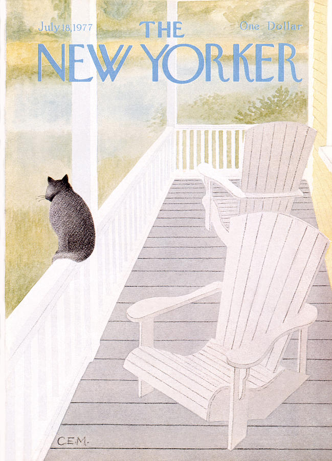 New Yorker July 18th, 1977 Painting by Charles E Martin