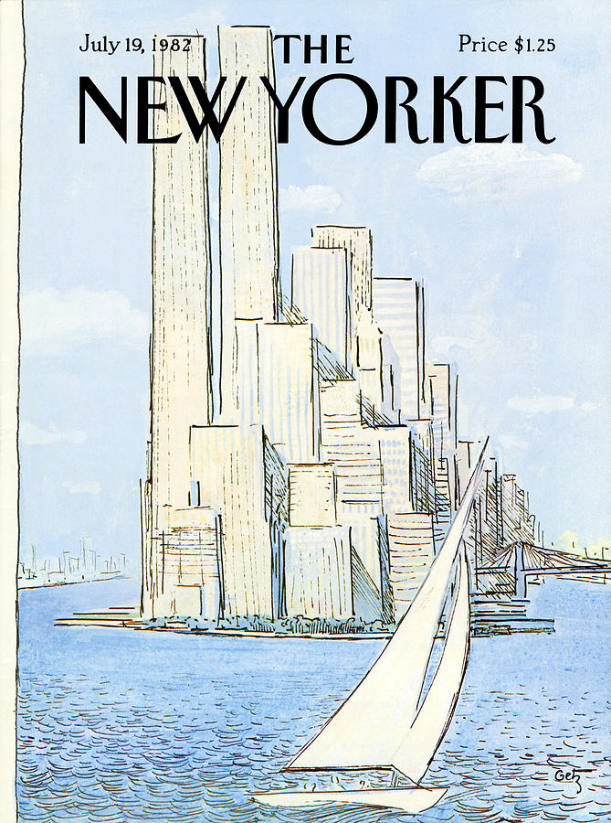 The New Yorker Cover - July 19th, 1982 Painting by Arthur Getz