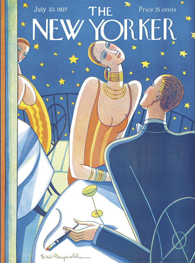 The New Yorker Cover - July 23rd, 1927 Photograph by Stanley W Reynolds