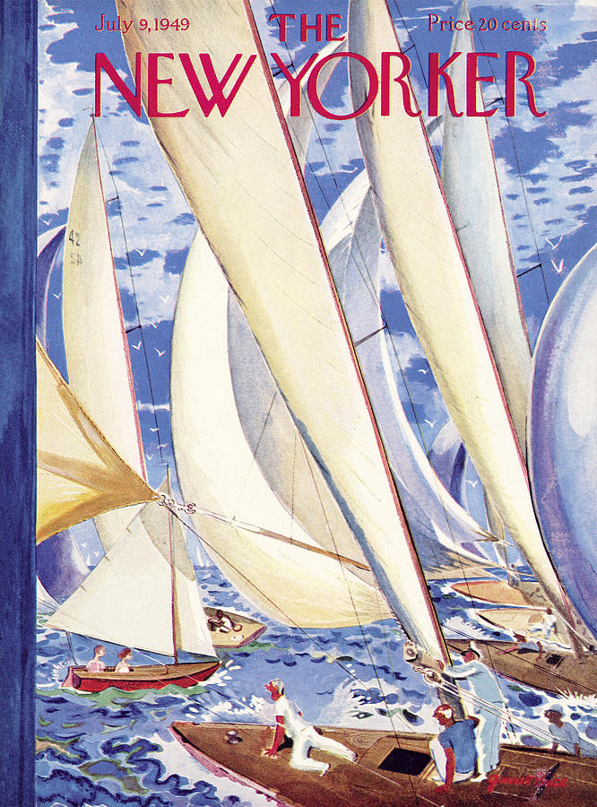 New Yorker July 9, 1949 Painting by Garrett Price