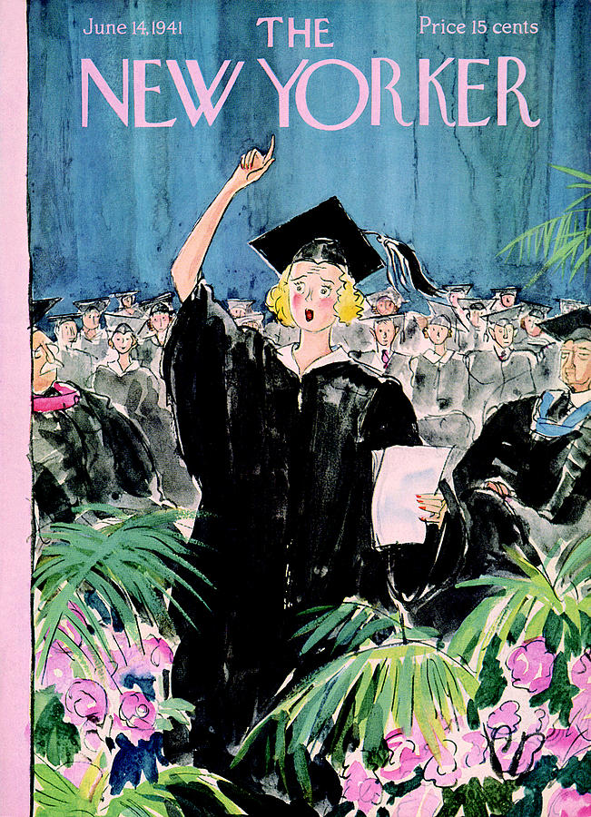 New Yorker June 14, 1941 Painting by Perry Barlow
