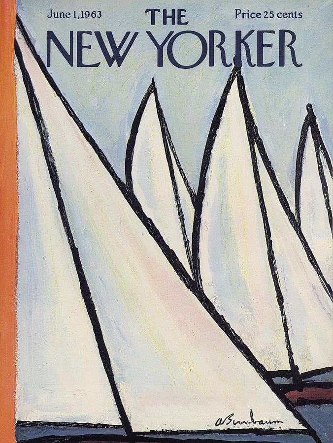 The New Yorker Cover - June 1st, 1963 Painting by Abe Birnbaum