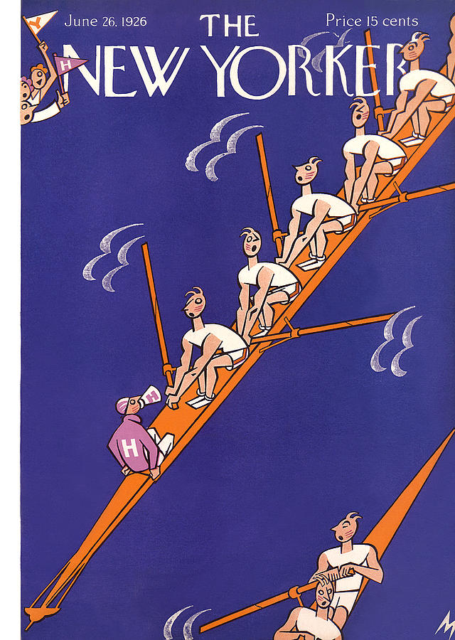 New Yorker June 26th, 1926 Painting by Julian de Miskey