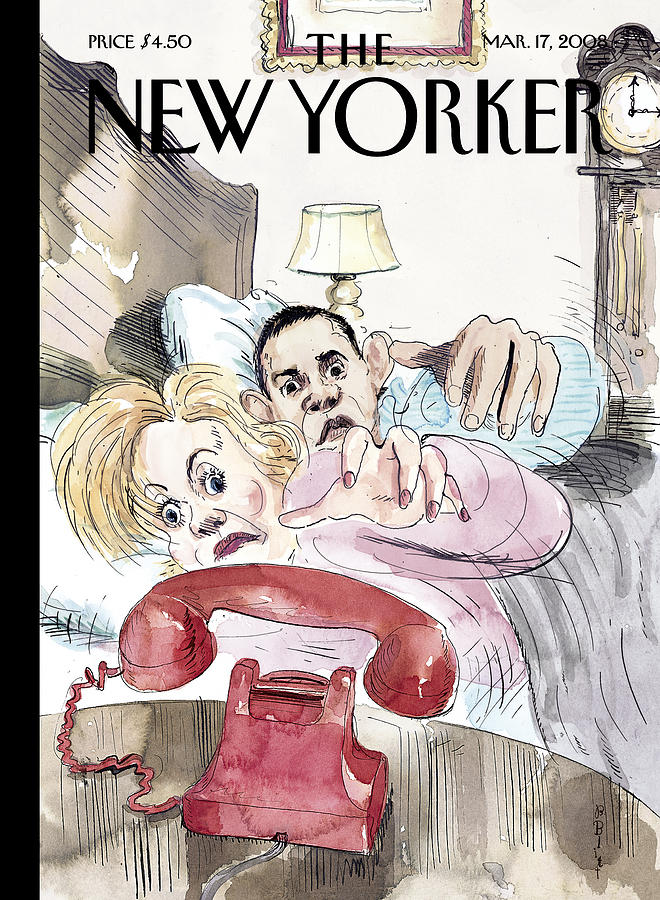 Ill Get It Painting by Barry Blitt