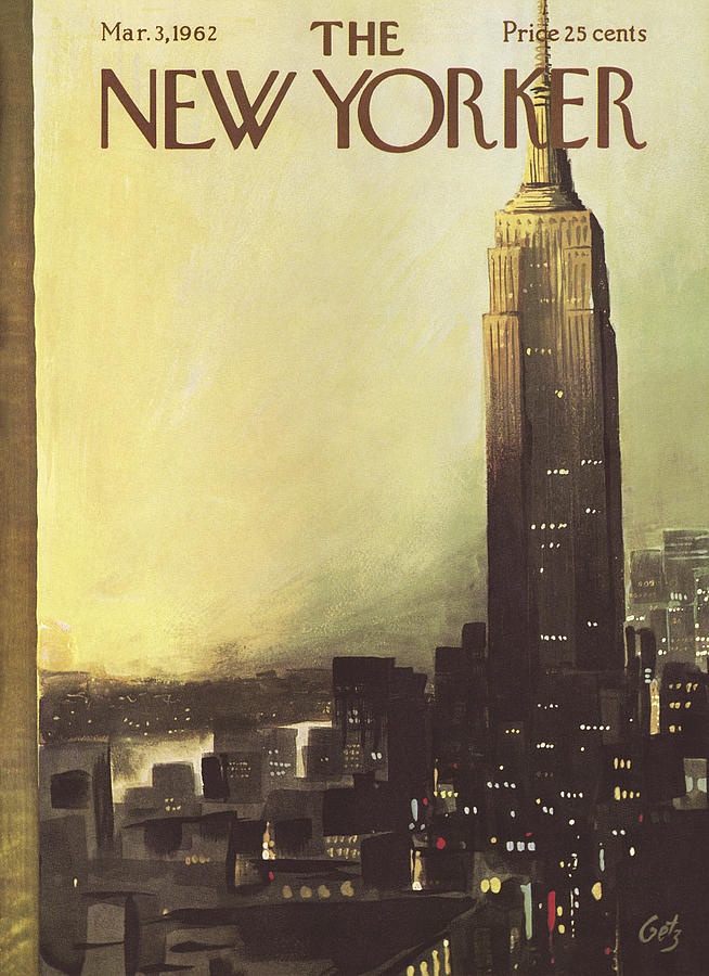 The New Yorker Cover - March 3rd, 1962 Painting by Arthur Getz
