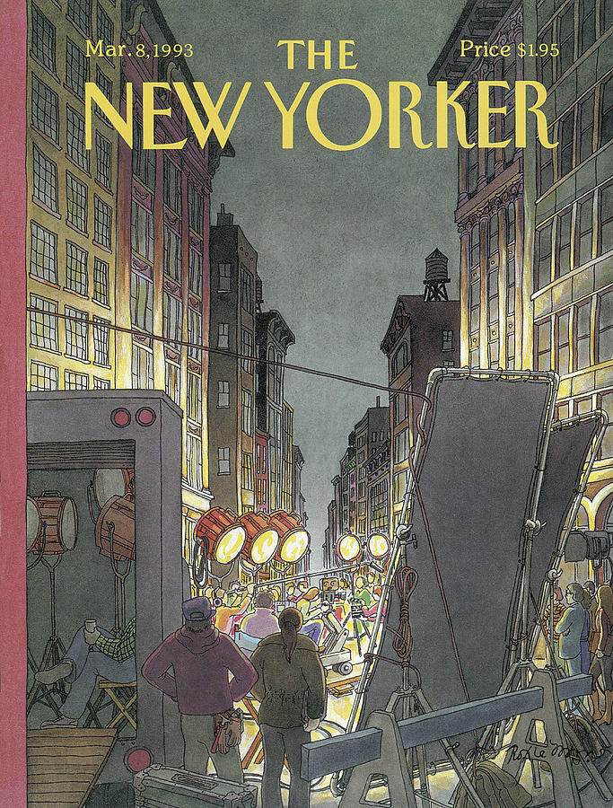 New Yorker March 8th, 1993 Painting by Roxie Munro